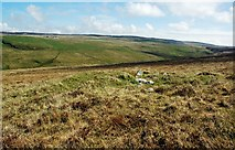 NR2743 : Moorland Cairn At Lower Killeyan by Mary and Angus Hogg