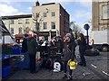 SP2865 : Christmassy music by Royal Spa Brass, Market Place, Warwick by Robin Stott