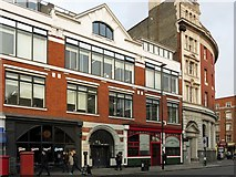 TQ3282 : Commercial premises, Goswell Road, EC1 by Mike Quinn