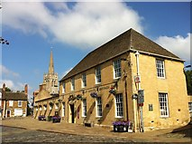 SK8608 : Post Office and Savings Bank, Oakham by Andrew Abbott