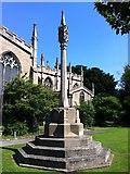 SK8608 : Oakham War Memorial by Andrew Abbott
