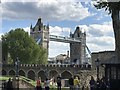 TQ3380 : Tower Bridge viewed from The Tower of London by Richard Humphrey