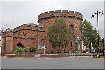 NY4055 : Carlisle citadel by Rudi Winter