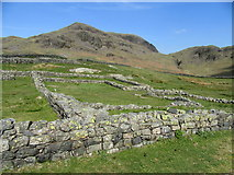NY2101 : Hardknott Castle Roman Fort by John H Darch