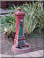 TQ3182 : Drinking water fountain in Spa Fields by Mike Quinn