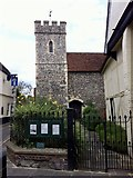 TR1458 : St Peter's Church, Canterbury by Andrew Abbott