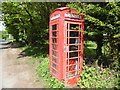 SU7193 : K6 Telephone Box at Christmas Common by David Hillas