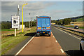 NO4654 : Average Speed Camera on the A90 near to Carse Gray by David Dixon
