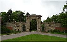 SJ5409 : Gateway entrance to Attingham Hall  by JThomas