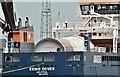 """J3575 : The """"Eems Dover"""" (deck cargo) Harland & Wolff, Belfast (May 2019) by Albert Bridge"""