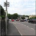 ST3090 : Speed camera sign, Malpas Road, Newport by Jaggery