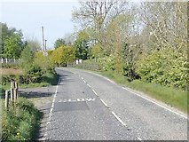 J0125 : Sturgan Brae (B30) approaching the junction with Aghmakaner Road by Eric Jones