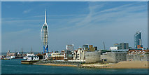 SZ6299 : Portsmouth Waterfront by Robin Drayton