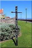 NT3294 : Sign near Fife Coastal Path, West Wemyss by Bill Kasman