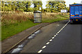 NO5258 : Northbound A90, Nether Careston Bus Stop by David Dixon