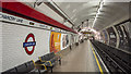 TQ3181 : Platform, Chancery Lane Underground Station by Rossographer