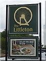 SJ9713 : Sign for the Littleton, Cannock by JThomas