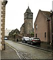 NS8892 : Bell tower, Old Parish Church, Alloa by Richard Sutcliffe