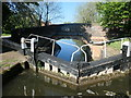 SP5698 : Whetstone Lane Bridge from Whetstone Lane Lock by Christine Johnstone