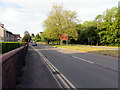 ST3091 : South along the A4051 into the city of Newport by Jaggery