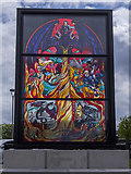 J3474 : Game Of Thrones window four, Belfast by Rossographer