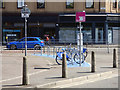 NS5866 : Nextbike Glasgow cycle hire point: St George's Cross by Thomas Nugent