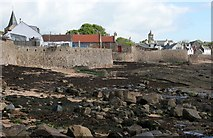 NO5603 : Sea wall, Anstruther Wester by Richard Sutcliffe