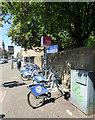 NS5767 : Nextbike Glasgow cycle hire point: Kelvinbridge subway by Thomas Nugent