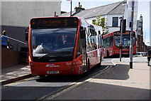 C4316 : City buses, Derry / Londonderry by Kenneth  Allen