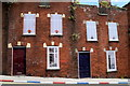 C4316 : Derelict houses, Hawkin Street, Derry / Londonderry by Kenneth  Allen