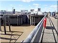 ST1972 : Cardiff Bay Barrage by Eirian Evans
