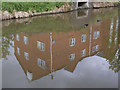 SP3165 : Reflections in the canal  by Stephen Craven