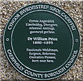 ST1988 : Green plaque detail, Waterloo by Jaggery