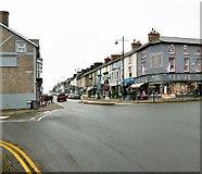 SH5638 : Porthmadog High Street by Gerald England
