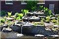 NT2400 : Water feature, Samye Ling by Jim Barton