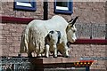 NT2400 : Sculpture outside Samye Ling Temple by Jim Barton