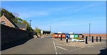 NT3294 : Car park, West Wemyss by Bill Kasman