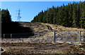 NC9021 : Electric Transmission Lines on Cnoc a' Mheirlich by Chris Heaton