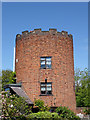 SJ9210 : Lock keeper's tower at Gailey Lock, Staffordshire by Roger  Kidd
