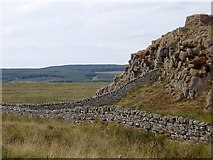 NY7868 : Housesteads Crags by Rudi Winter