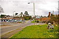 TQ0752 : Roundabout, West Horsley by Ian Capper