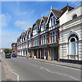 SK2423 : Burton-upon-Trent: on Station Street by John Sutton