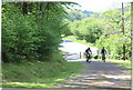 ST2086 : Lane up from minor road, Rudry by M J Roscoe