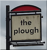 SJ3554 : Sign for the Plough, Gresford by JThomas