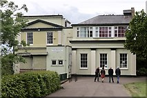 SO5139 : Castle Cliffe Hereford Association of Youth Clubs Technical College Annex by Andrew Abbott