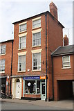 SO5139 : St Michael's Hospice Shop, Hereford by Andrew Abbott
