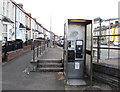 ST3089 : Doorless phonebox, Malpas Road, Crindau, Newport by Jaggery