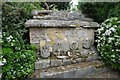 SO8731 : Memorial tomb at Forthampton Court by Philip Halling