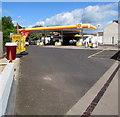 ST3089 : Shell Filling Station, Crindau, Newport by Jaggery