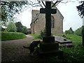 SO6140 : Cat at St. Philip & St. James' Church (Tarrington) by Fabian Musto